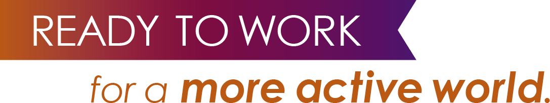 Ready to work banner